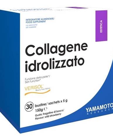 Collagene idrolizzato (zmes 4 kolagénov) - Yamamoto 30 bags x 5 g Wild Strawberry