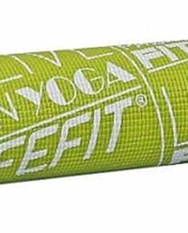 Gymnastická podložka LIFEFIT SLIMFIT, 173x58x0,4cm, světle zelená