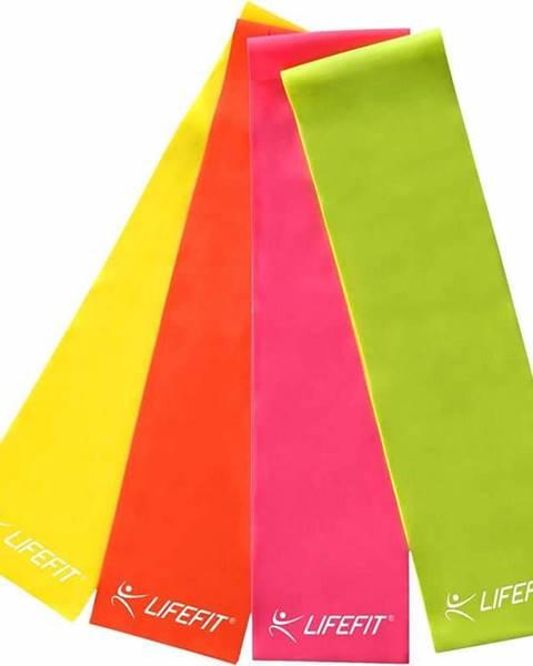 Lifefit Posilovací guma LIFEFIT FLEXBAND 0,55, zelená