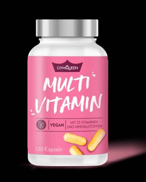 GYMQUEEN GYMQUEEN Vegan Multivitamín 120 kaps.