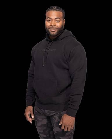 Better Bodies Logo Hoodie Black  S