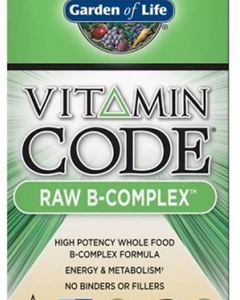 Garden of life Garden Of Life Vitamín B Komplex - Raw 60 kapsúl