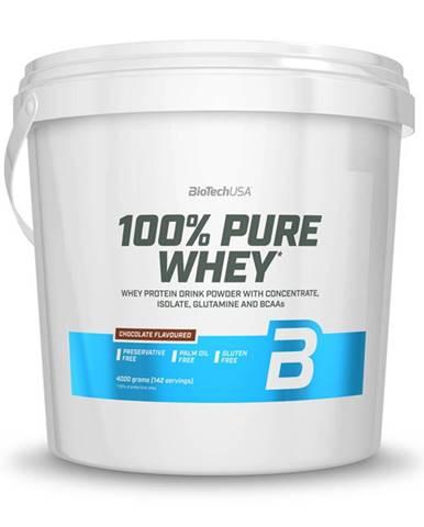 BioTech USA BioTech 100% Pure Whey 4000 g variant: čokoláda