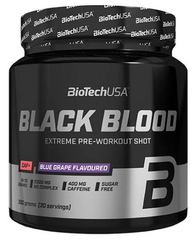 BioTech USA BioTech Black Blood Caf+ 300 g variant: čučoriedka