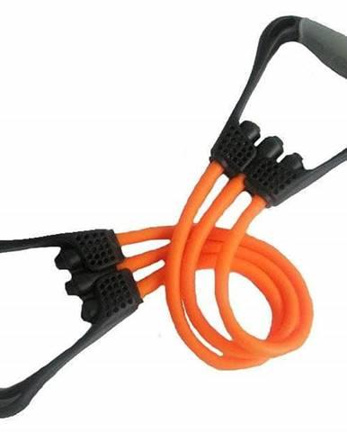 Posilovač Pull Rubber KR 396TR SEDCO oranžový 48 cm - Oranžová