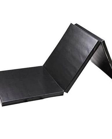 Žíněnka skládací třídílná SEDCO 180x90x5 cm - Černá