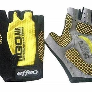 Rukavice fitnes 6039 - S - Žlutá