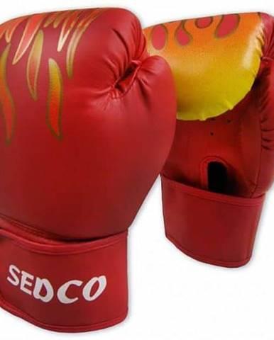 Box rukavice SEDCO TRAINING FIRE 14 OZ - Červená