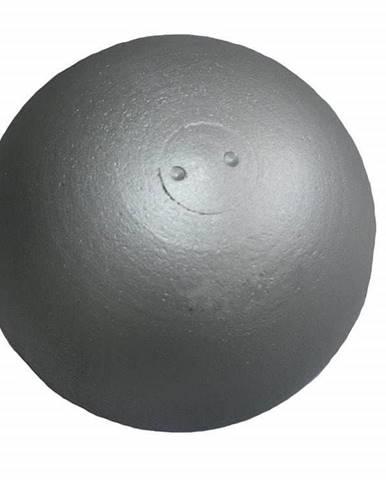 Koule atletická ZÁVODNÍ 6 kg SEDCO soustružená stříbrná - 6