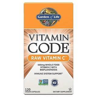 Garden of Life Vitamín C - RAW 120 kapslí