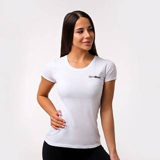 GymBeam Dámske tričko Basic White  XL