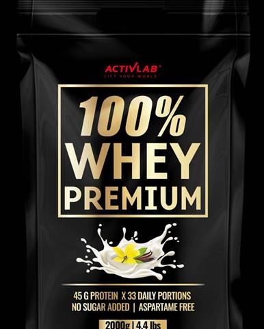 ActivLab 100% Whey Premium 2000 g vanilka