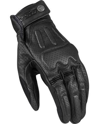 Kožené moto rukavice LS2 Rust Black - S