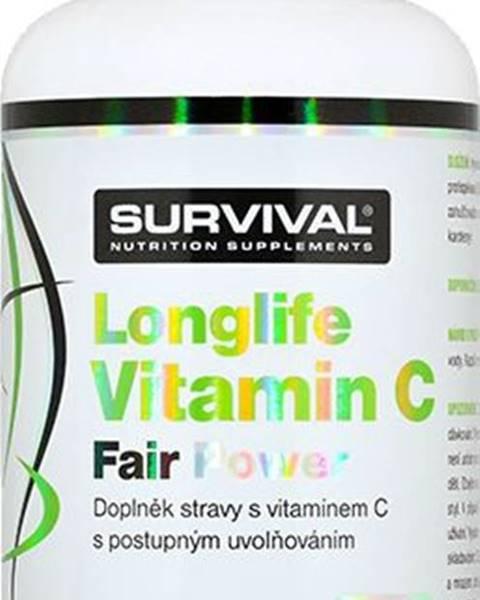 Survival Survival Longlife Vitamín C Fair Power 150 kapsúl