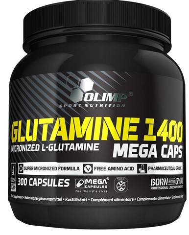 Olimp Glutamine 1400 Mega Caps 300 kapsúl