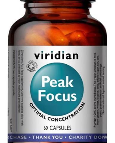 Viridian Peak Focus Organic ( Normálne kognitívne funkcie ) 60 kapsúl