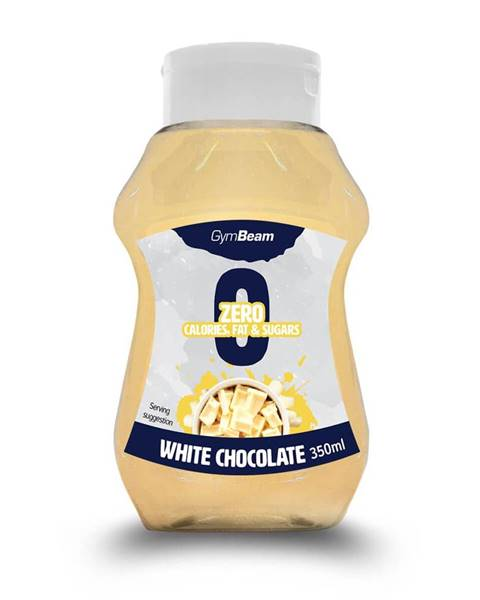 GymBeam GymBeam White Chocolate 350 ml biela čokoláda
