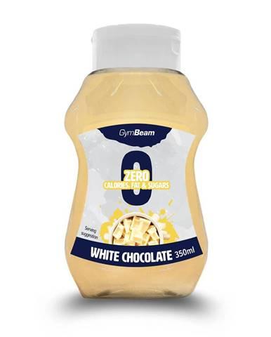 GymBeam White Chocolate 350 ml