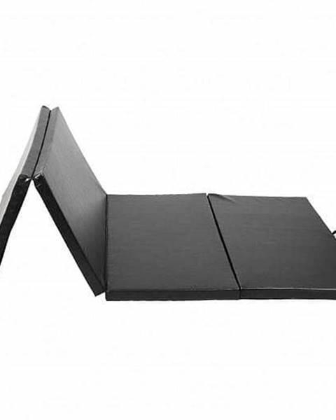 Sedco Žíněnka skládací čtyřdílná SEDCO ECO 185x60x3,5 cm - Černá