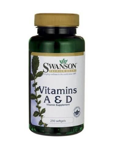 Swanson Vitamín A & D 250 kaps.