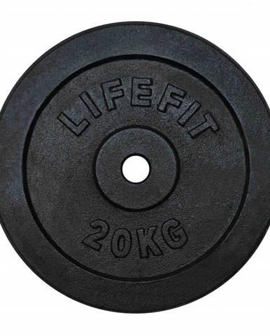 Kotúč LIFEFIT 20kg, kovový, pre 30mm tyč