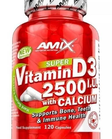 Amix Nutrition Amix Vitamin D3 2500 I.U. s vápnikom 120 kapsúl