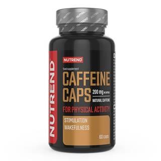 Kofeínový stimulant Nutrend Caffeine Caps, 60 kapslí