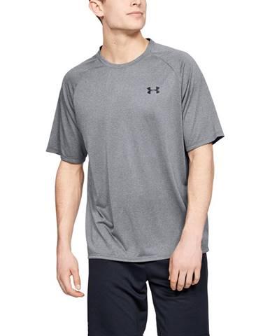 Pánske tričko Under Armour Tech 2.0 SS Tee Novelty Pitch Gray - L