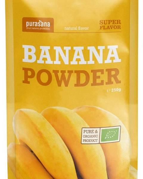 Purasana Purasana Banana Powder BIO 250g
