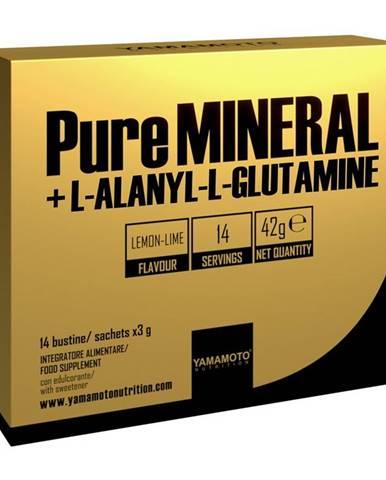 PureMINERAL + L-ALANYL-L-GLUTAMINE - Yamamoto 14 bags x 3 g Lemon Lime