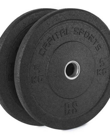 Gumový kotúč Capital Sports Renit 2 x 5 kg