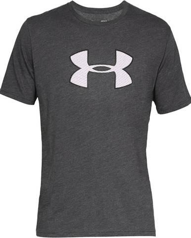 Pánske tričko Under Armour Big Logo SS Charcoal Medium Heather - S