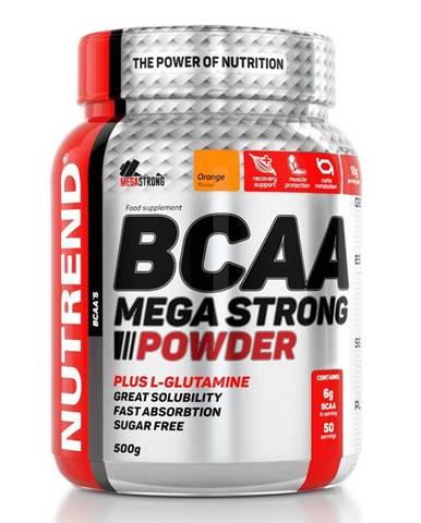 BCAA Mega Strong Powder - Nutrend 20 x 10 g Cherry