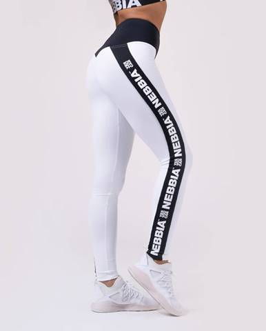 NEBBIA Fitness legíny Power Your Hero 531 white  M