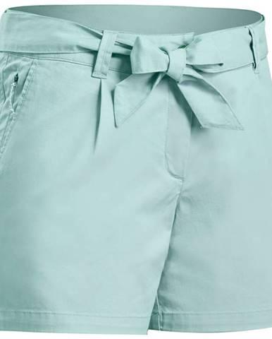QUECHUA šortky Nh500 Zelené