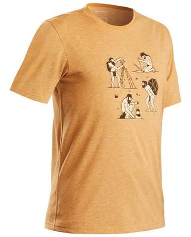 QUECHUA Tričko Nh500 Orieškové
