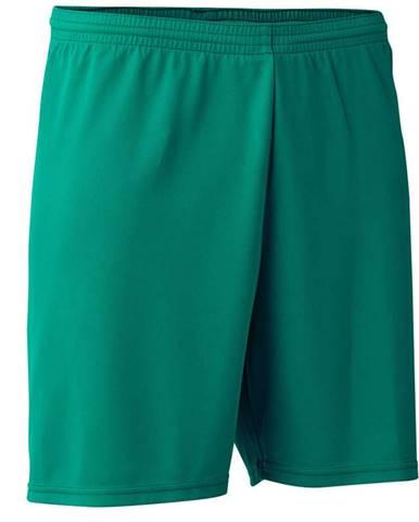 KIPSTA Futbalové šortky F100 Zelené