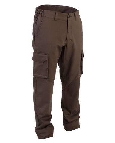 SOLOGNAC Poľovnícke Nohavice 520 Hnedé