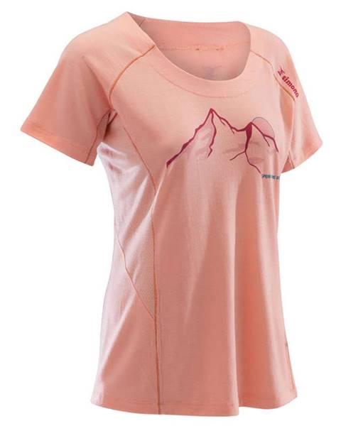 SIMOND SIMOND Dámske Vlnené Tričko Ružové