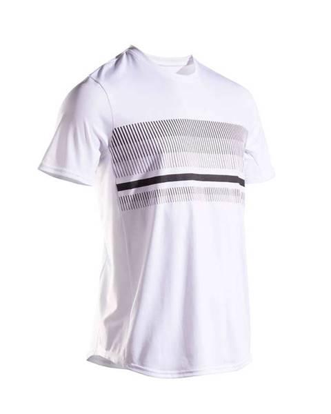 ARTENGO ARTENGO Tenisové Tričko Tts100 Biele