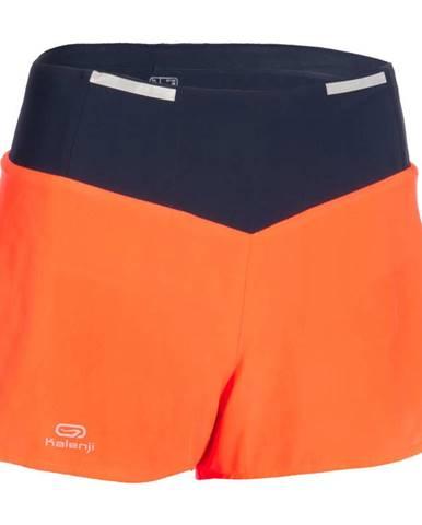 KALENJI šortky Na Atletiku Oranžové