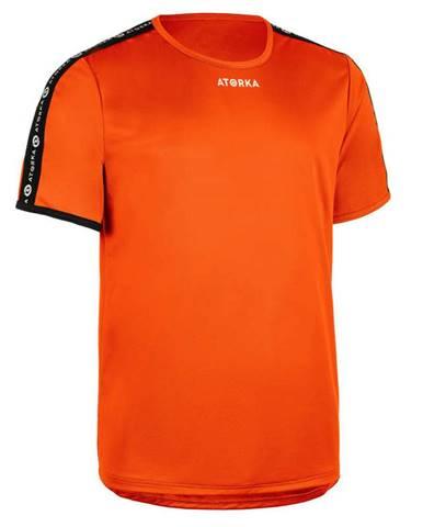 ATORKA Pánske Tričko H100c Oranžové