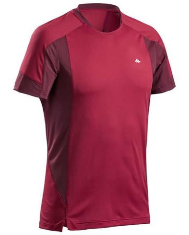 QUECHUA Pánske Tričko Mh500 červené