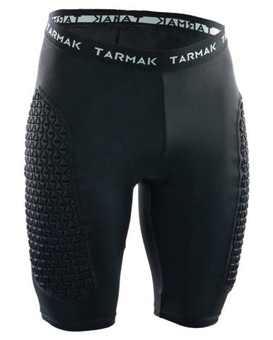 TARMAK Ochranné šortky čierne