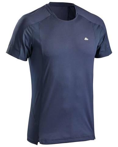 QUECHUA Pánske Tričko Mh500 Modré