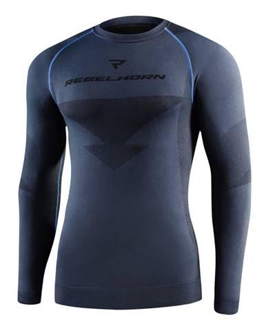 Moto thermo tričko Rebelhorn Freeze Jersey čierna - XS