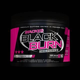 Stacker2 Spaľovač tukov Black Burn Micronized 300 g ovocný punč
