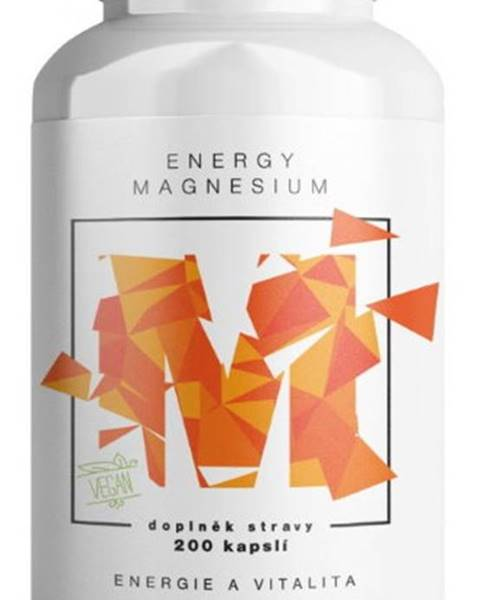BrainMax Brainmax Energy Magnesium 1000 mg 200 kapsúl
