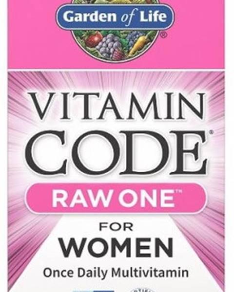 Garden of life Garden Of Life Vitamín Code Raw One - pre Ženy 75 kapsúl