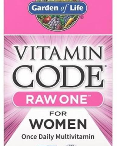 Garden Of Life Vitamín Code Raw One - pre Ženy 75 kapsúl